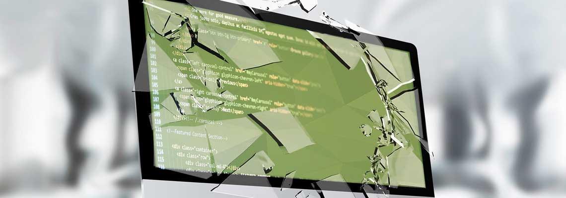 iMac Webdesign Bildschirm